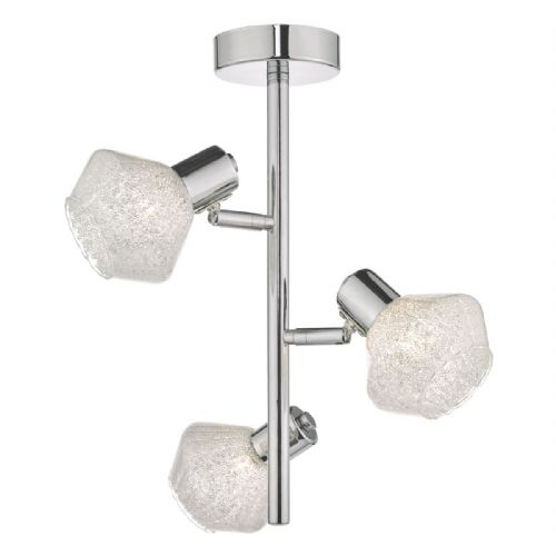 Meela 3lt Semi Flush Polished Chrome & Glass (double insulated) BXMEE5350-17
